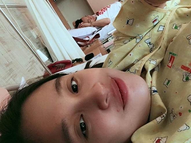 Hot girl Hong Anh sinh con trai dau long nang hon 4 kg hinh anh 1
