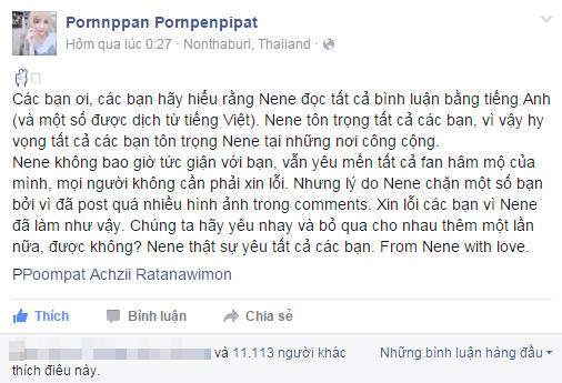 Het gia danh IS, dan mang Viet lai lam loan FB hot girl Thai hinh anh 1 Hot girl Thái