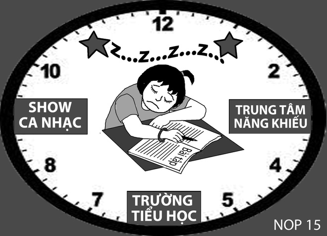 Cha me muon con noi tieng hinh anh