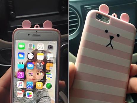 Chang trai lai taxi tra iPhone 6 cho khach de quen hinh anh