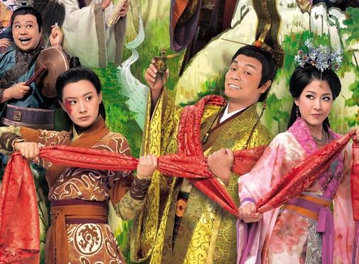 Chung Vo Diem TVB choc cuoi khan gia hinh anh