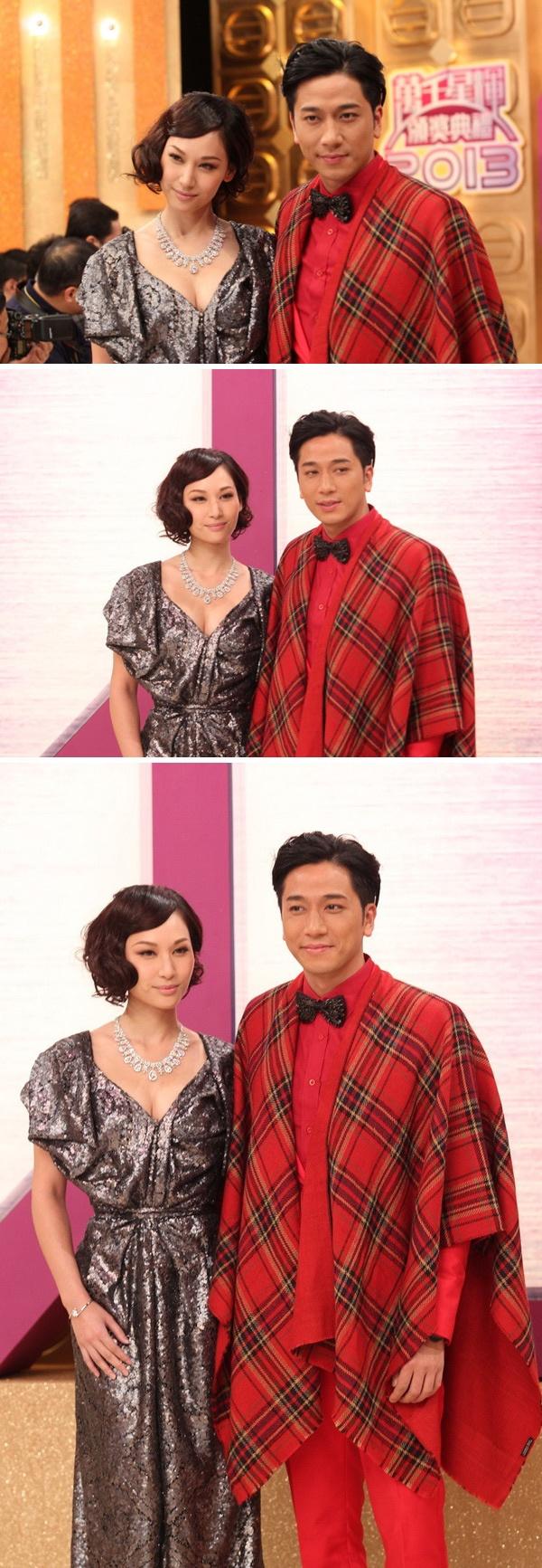 Sao nu TVB dua nhau dien dam xuyen thau tren tham do hinh anh 1
