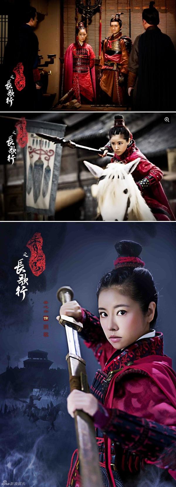 Lam Tam Nhu dep rang ngoi trong phim co trang moi hinh anh 5