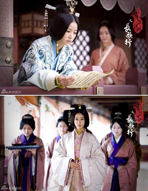 Lam Tam Nhu dep rang ngoi trong phim co trang moi hinh anh 3