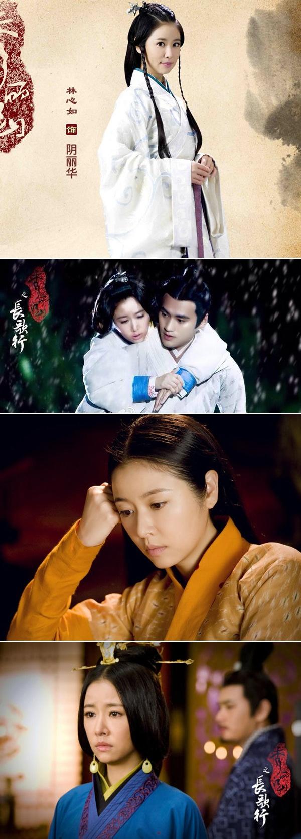 Lam Tam Nhu dep rang ngoi trong phim co trang moi hinh anh 4