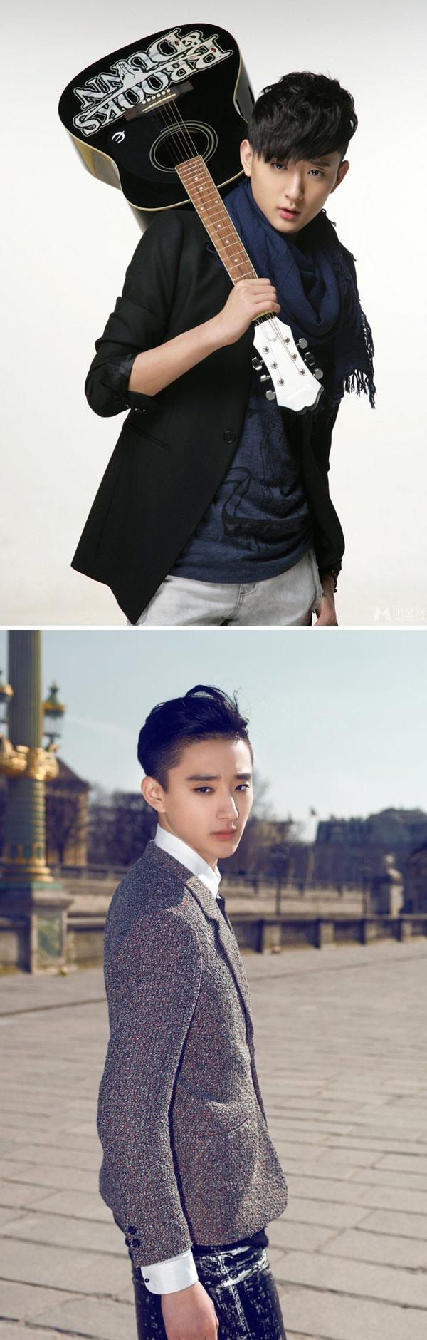 Kim Tan Trung Quoc la hot boy truong mua hinh anh 3
