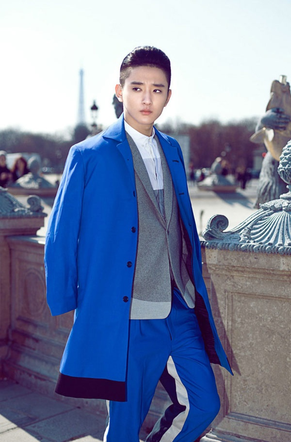 Kim Tan Trung Quoc la hot boy truong mua hinh anh 4