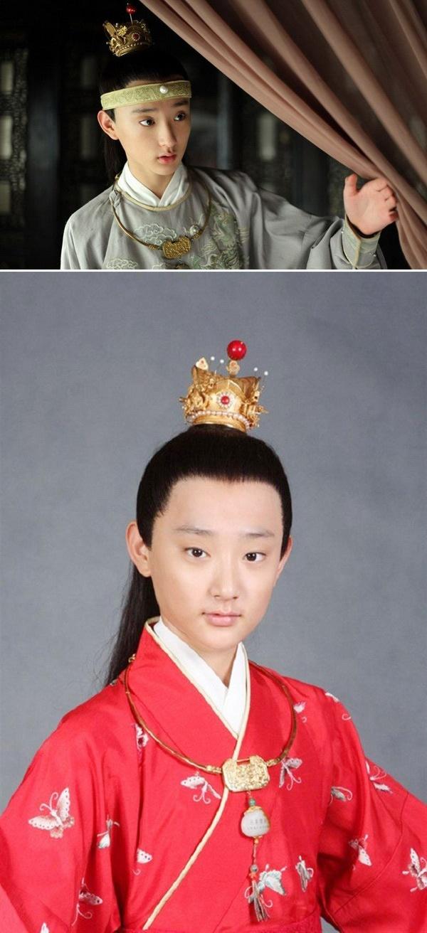 Kim Tan Trung Quoc la hot boy truong mua hinh anh 1