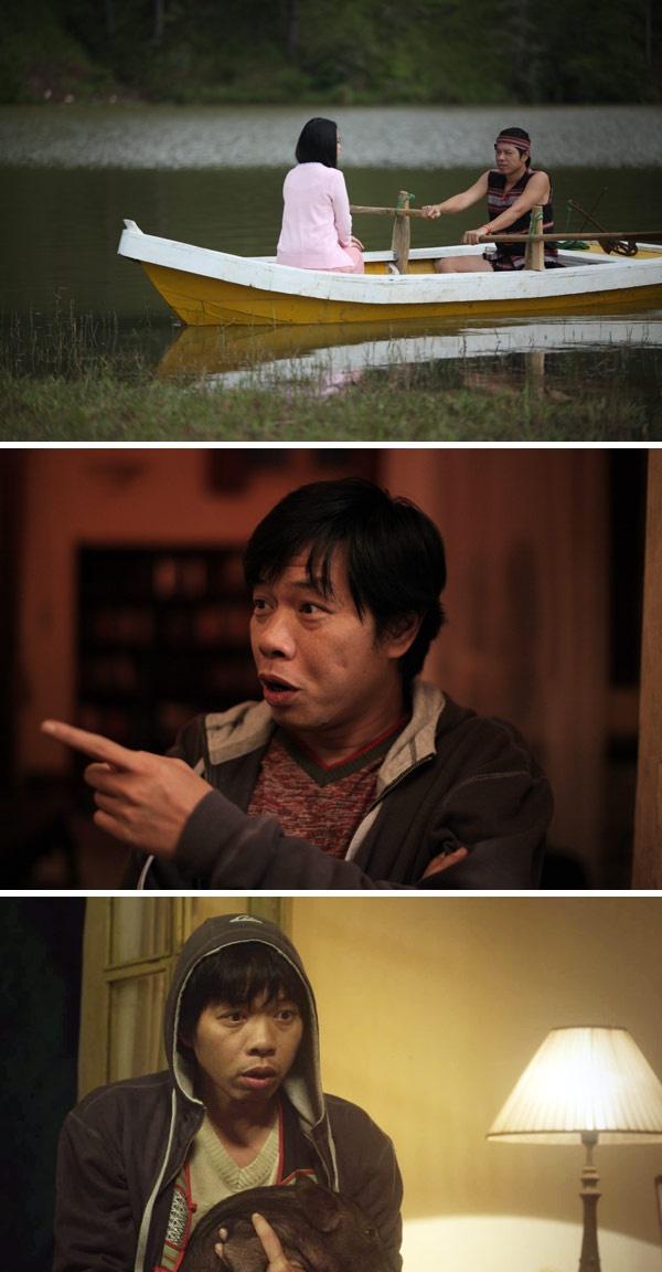 Thai Hoa mac mat me trong phim 'Qua tim mau' hinh anh 1