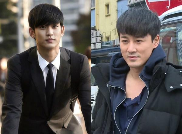 Lam Phong copy kieu toc cua Kim Soo Hyun hinh anh