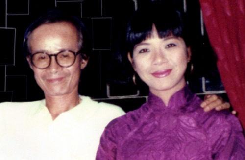 Sao Viet va ky niem kho quen voi Trinh Cong Son hinh anh 4 Ca sĩ Ánh Tuyết và nhạc sĩ Trịnh Công Sơn.