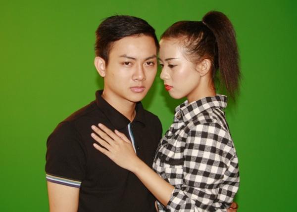 Hoai Lam tuyen nguoi yeu cho MV dau tay hinh anh