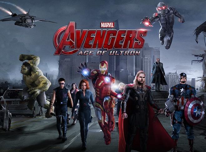 'The Avengers 2' hut khach tu nhung hinh anh dau tien hinh anh