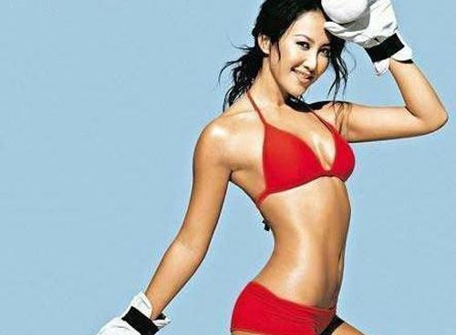 My nhan Hoa ngu nong bong voi bikini trong loat anh xua hinh anh