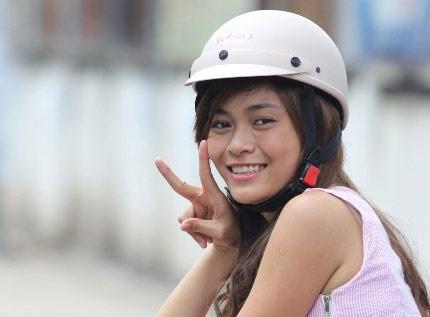 Mau Thanh Thuy kieu ky, danh da trong phim dau tay hinh anh