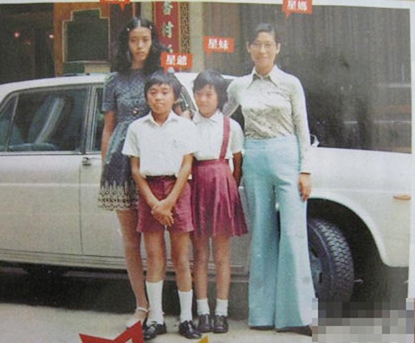 Bi mat thoi tho au buong binh cua Chau Tinh Tri hinh anh 3 Châu Tinh Trì cùng gia đình trong khoảng thời gian xảy ra chuyên chiếc đùi gà.