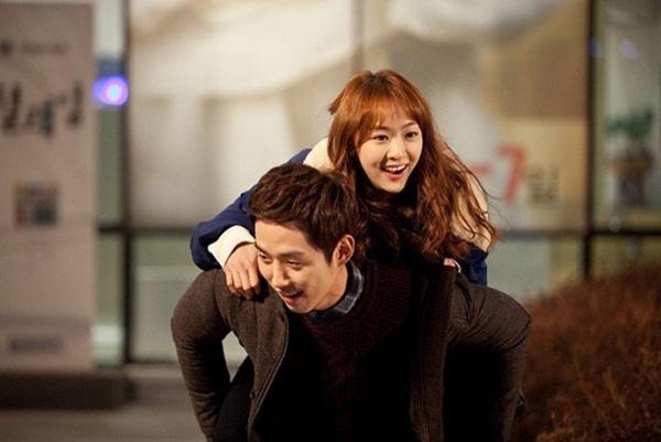 Da Som và Baek Sung Hyun dệt nên mối tình đầy lãng mạn trong phim.
