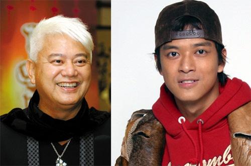 Nhung dien vien TVB co ho hang voi nhau hinh anh 9 Nam ca sĩ - diễn viên Trần Hiểu Đông là cháu gọi Trần Bách Tường - ngôi sao vai phụ trong khá nhiều bộ phim hài của Châu Tinh Trì bằng cậu họ.