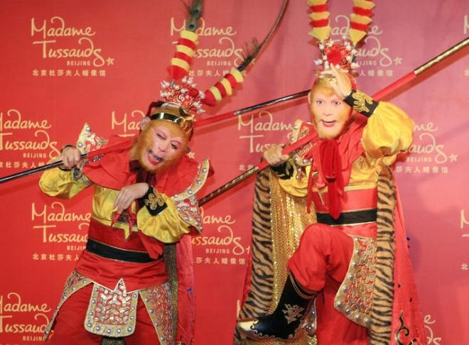 Luc Tieu Linh Dong do dang voi Ton Ngo Khong hinh anh