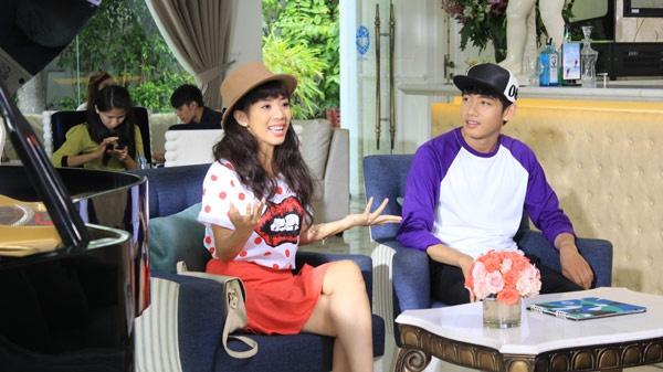 Viet Huong - Tran Thanh quay tung trong phim moi hinh anh 1