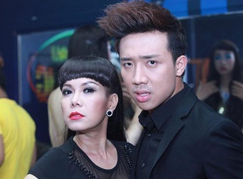 Viet Huong - Tran Thanh quay tung trong phim moi hinh anh