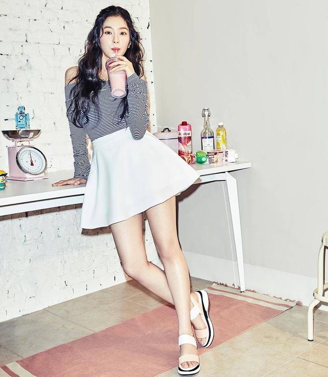 Irene, Taeyeon da lam cach nao de trong cao hon 1,58 m? hinh anh 1 Meo_phoi_do_tang_chieu_cao_cua_sao_Han_1.jpg