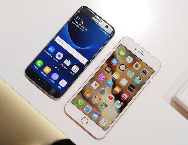 iPhone 7 va cuoc dua voi Galaxy S7, LG G5 hinh anh