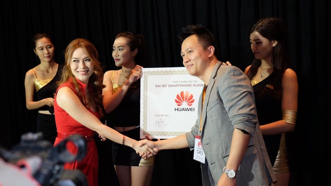 Huawei trinh lang di dong cam bien van tay tam trung o VN hinh anh
