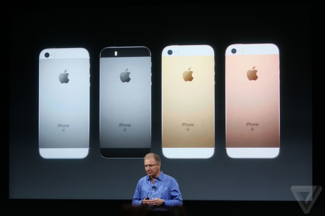 Video truc tiep su kien Apple ra mat iPhone SE hinh anh