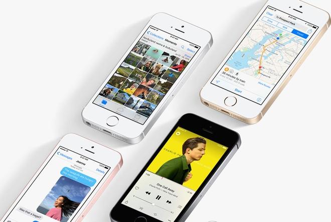 iPhone SE: Thiet ke nham chan, cau hinh vuot troi hinh anh 2