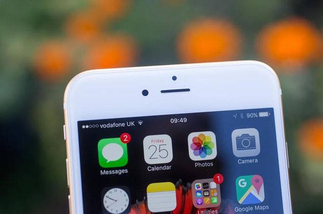 iOS 10 cho phep nguoi dung giau ung dung mac dinh hinh anh