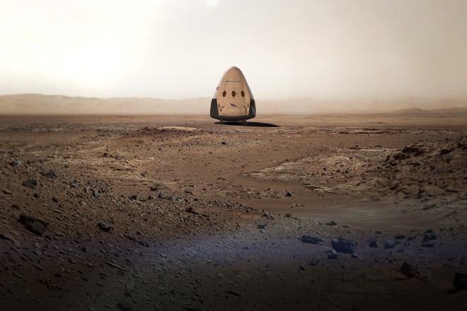 Ten lua cua Elon Musk ha canh o Hoa tinh ra sao? hinh anh 3