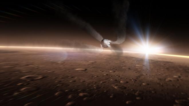 Ten lua cua Elon Musk ha canh o Hoa tinh ra sao? hinh anh 6