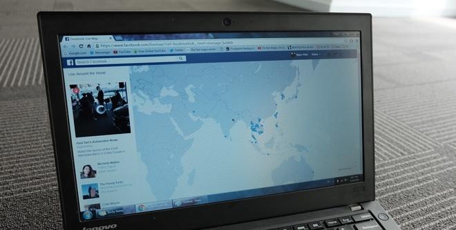 Ban do Live Facebook xuat hien tai Viet Nam hinh anh 1