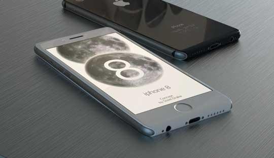 Vi sao tin don iPhone 8 xuat hien don dap? hinh anh