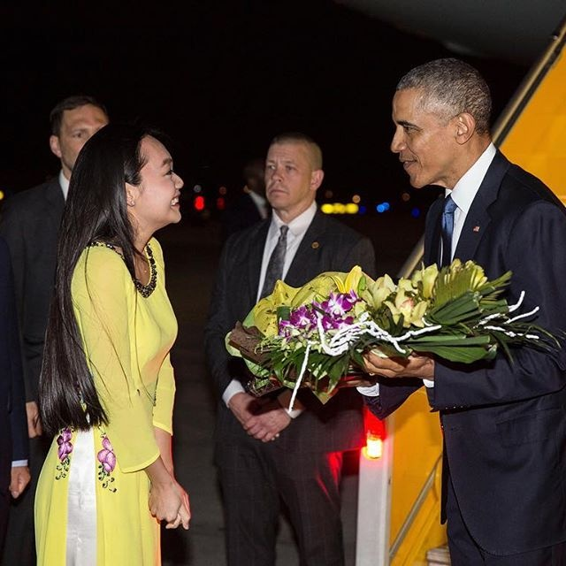 Anh, video duoc chia se nhieu ve chuyen tham VN cua Obama hinh anh 1