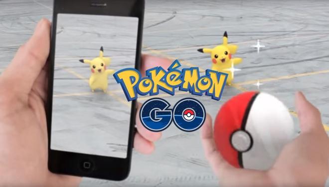 Pokemon thuc te ao mien phi ra mat cuoi nam nay hinh anh