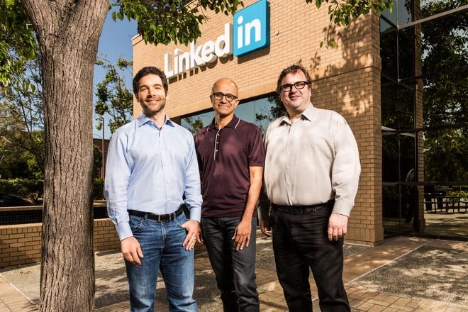 Microsoft mua lai LinkedIn voi gia 26,2 ty USD hinh anh