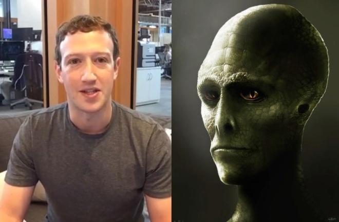 Mark Zuckerberg bi nghi ngo la nguoi ngoai hanh tinh hinh anh 1