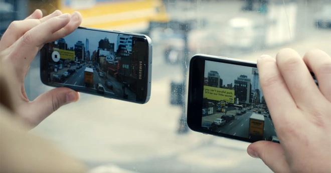 Samsung bi nghi ngo bat chuoc quang cao cua Apple hinh anh 1