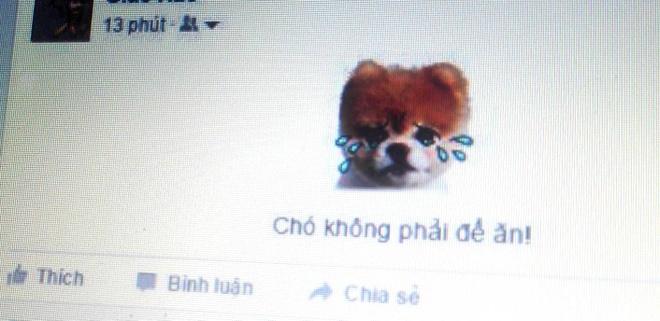 Facebook cho phep dang sticker tren dong trang thai hinh anh