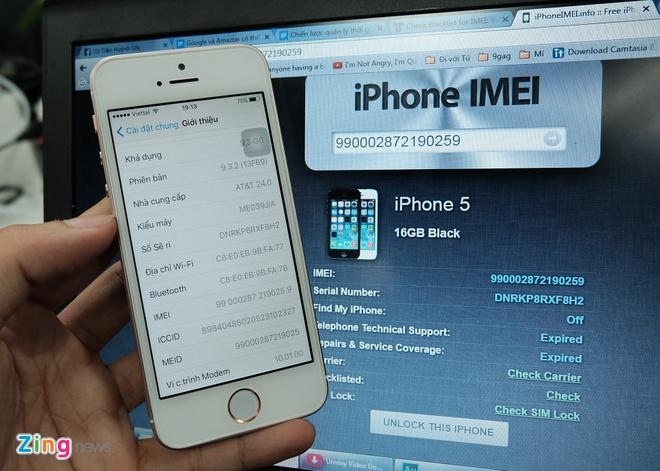 iPhone SE ruot iPhone 5 tran ngap o Sai Gon hinh anh 3