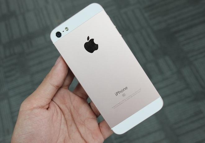 iPhone SE ruot iPhone 5 tran ngap o Sai Gon hinh anh