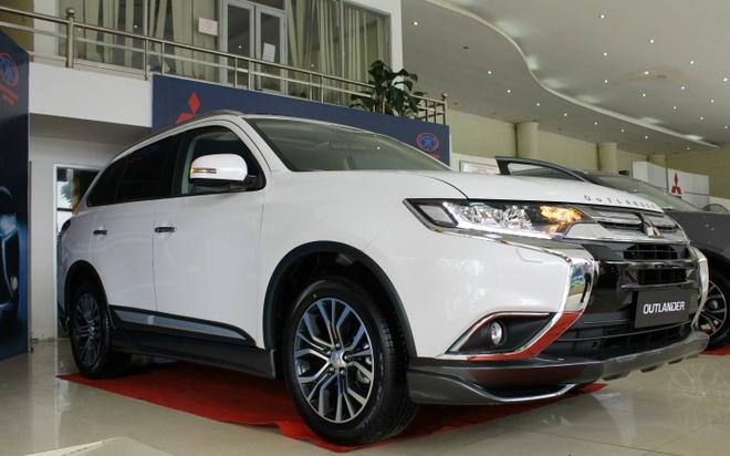 Mitsubishi Outlander 2016 dau tien tai VN, gia tu 1,1 ty hinh anh 2
