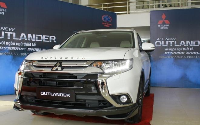 Mitsubishi Outlander 2016 dau tien tai VN, gia tu 1,1 ty hinh anh 3