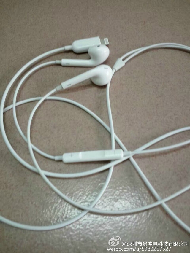 Ro ri hinh anh duoc cho la tai nghe cua iPhone 7 hinh anh 2