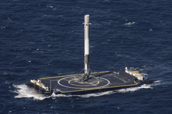 SpaceX 9 lan phong ten lua vao vu tru thanh cong hinh anh 2