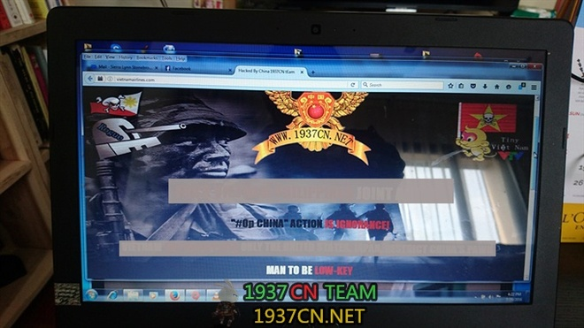 Tin tac Trung Quoc phu nhan tan cong web Vietnam Airlines hinh anh 1