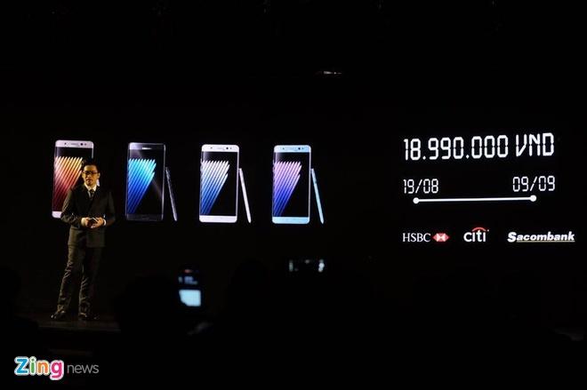 Galaxy Note 7 se chay hang o Viet Nam hinh anh 2