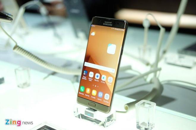 Galaxy Note 7 se chay hang o Viet Nam hinh anh